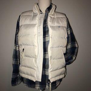 Duck Head Jackets & Coats - White Puffy Duck Head Vest